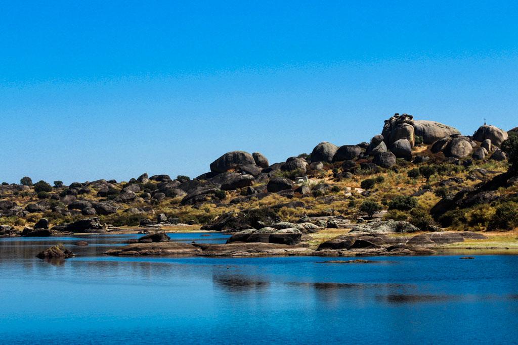 Zilverroute, ruta de plata Los Barruencos natural monument