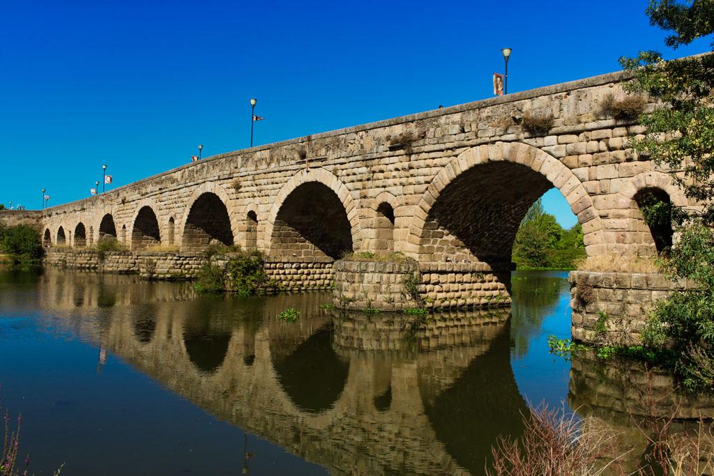 Merida Romeinse brug Puente de Guadiana,