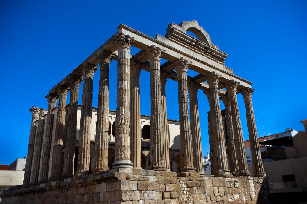 Merida tempel Diana