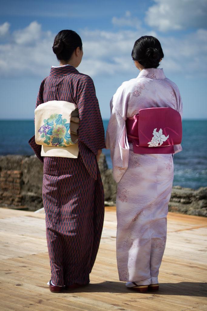 Kimono met musubi
