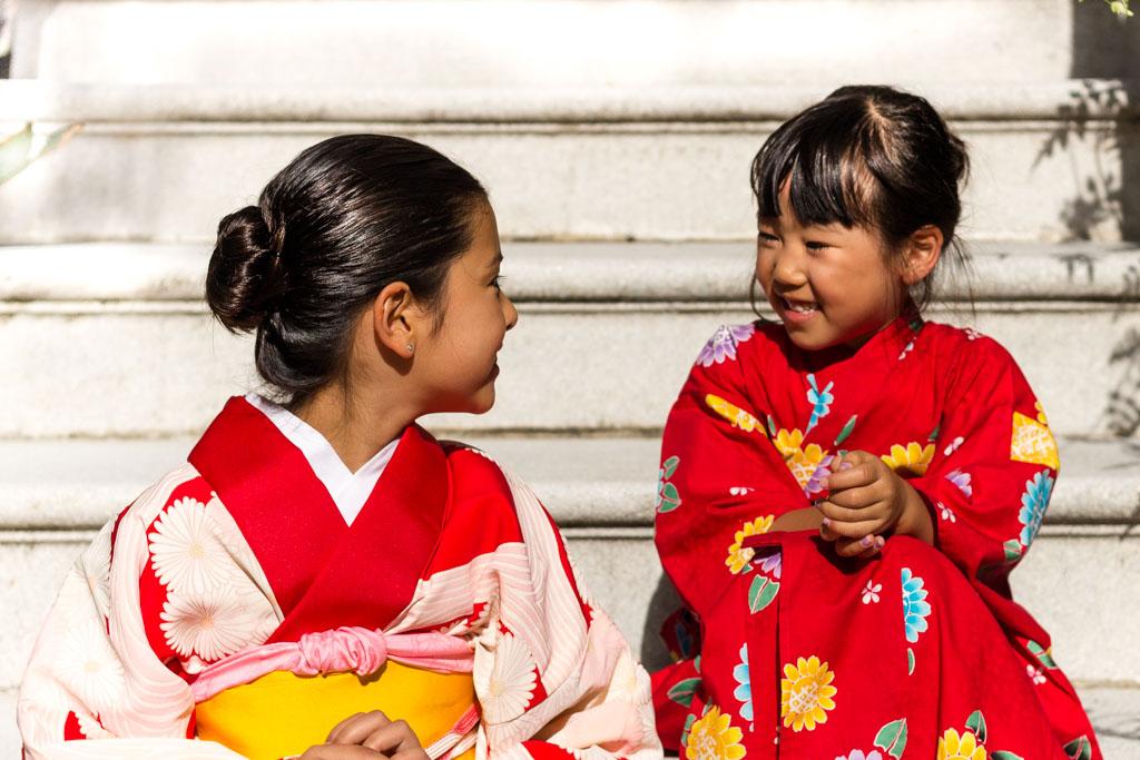 Lucia & Honomi, Japan, 9 & 5