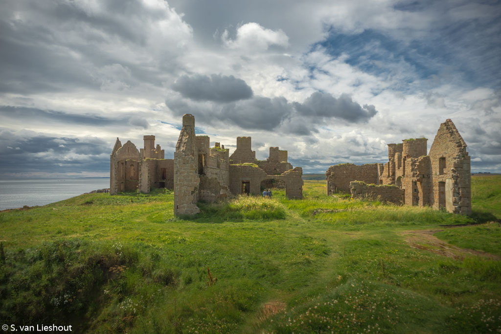Slains Castle Cliffs