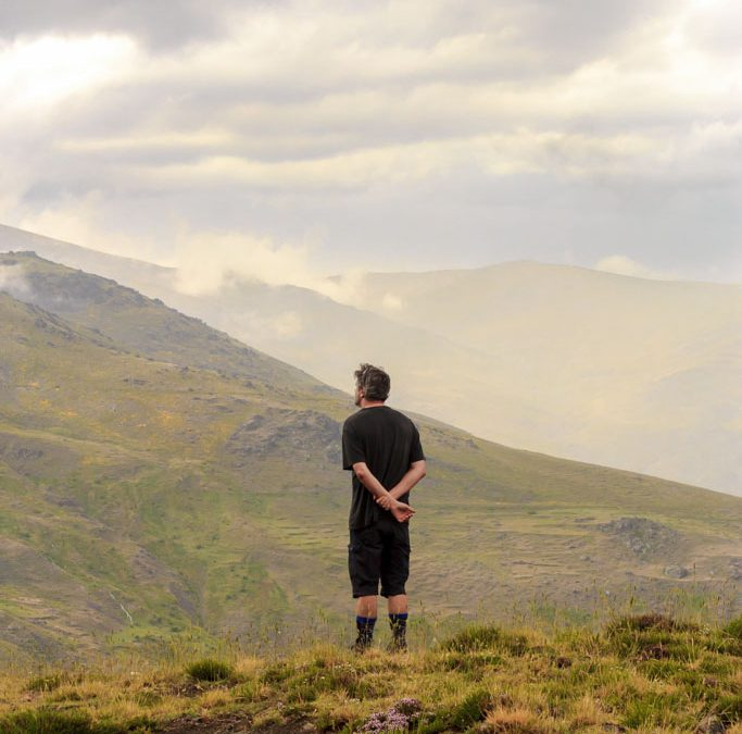 Mulhacen, Sierra Nevada, trektocht naar de top van Spanje