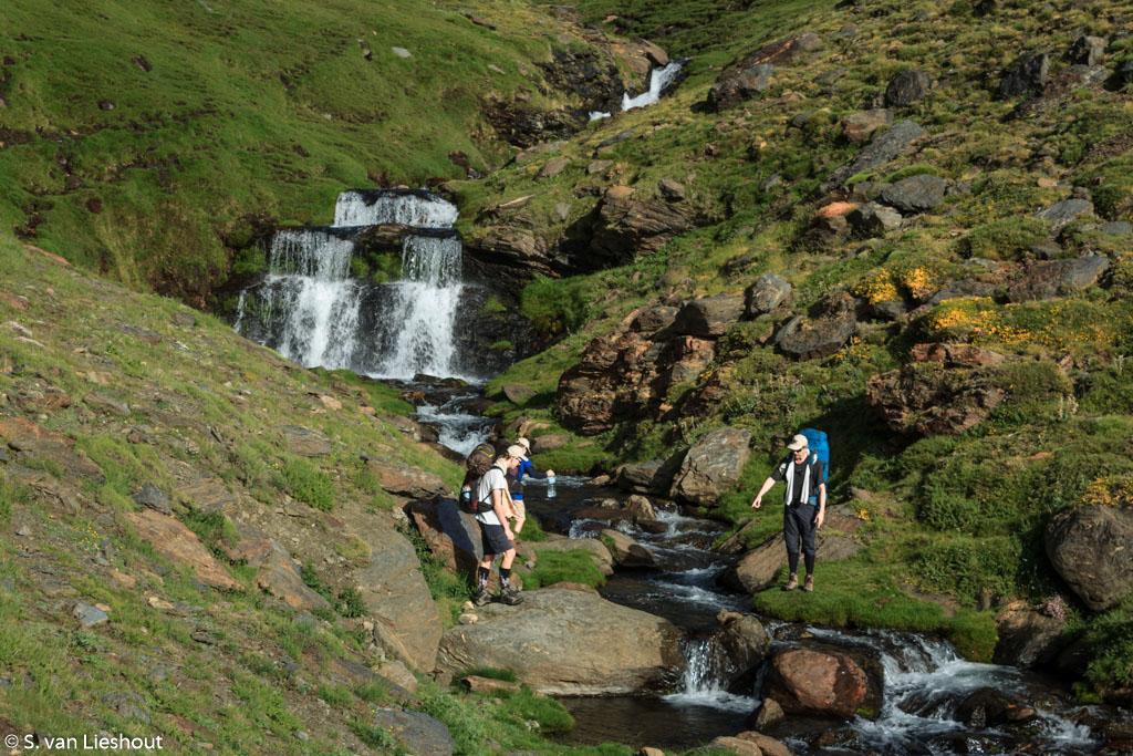waterval Sierra Nevada