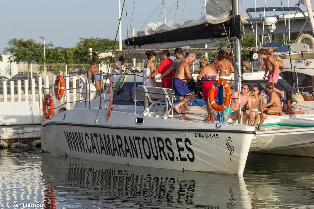 catamaran zeilen Malaga