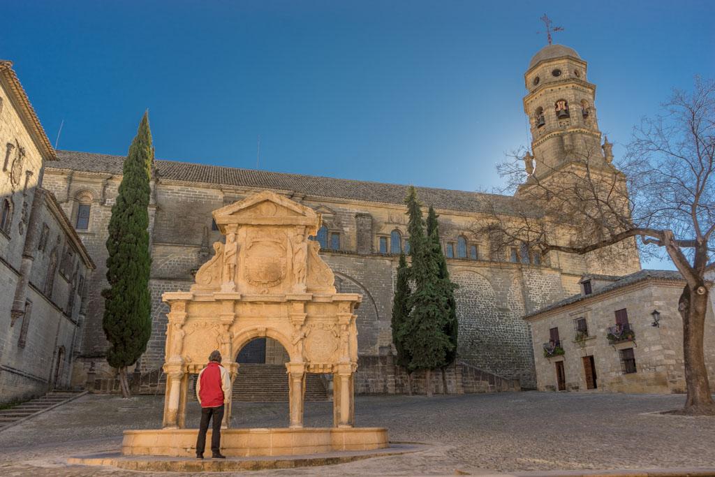 Baeza Plaza Santa Maria