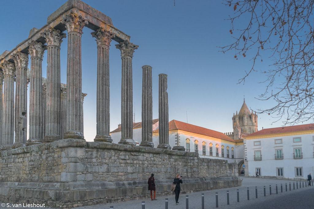 tempel Diana Evora