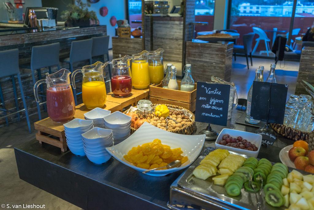 Vitoria Stone Hotel ontbijt