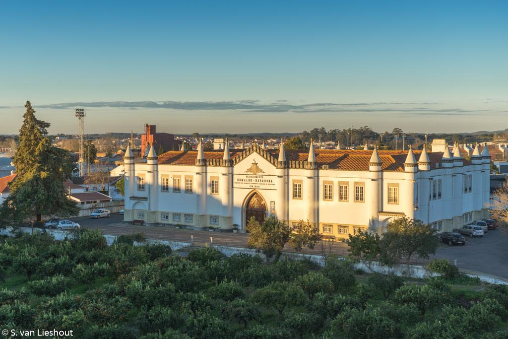 Vitoria Stone Hotel view Evora