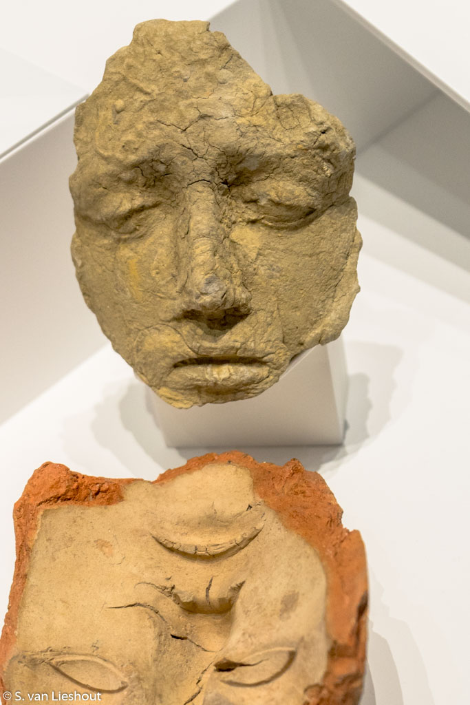 Cast for terracotta masks
