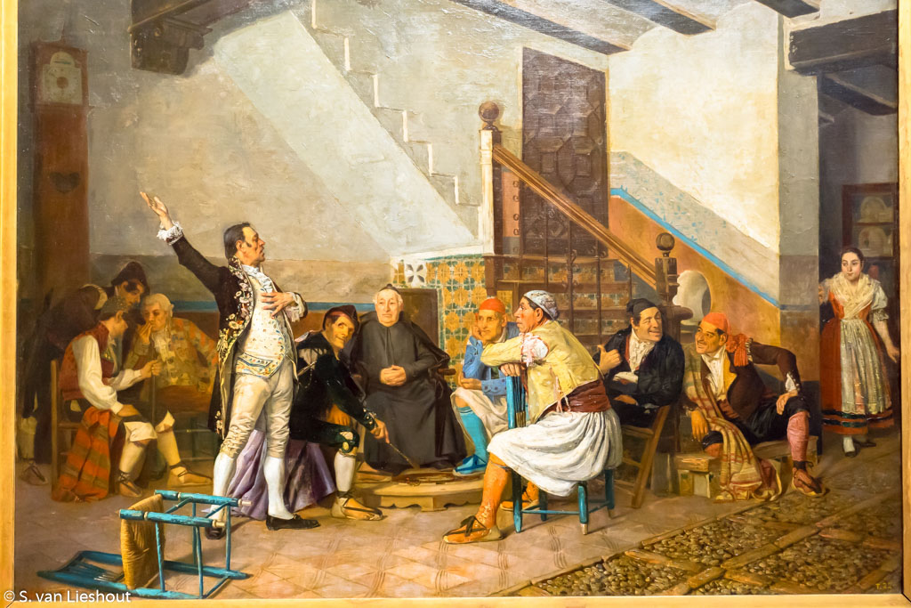 The Political Charlatan Oil Bernardo Ferrándiz y Báenes