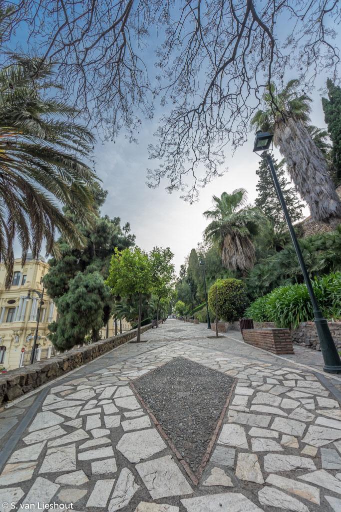 Jardines Puerta Oscura Malaga