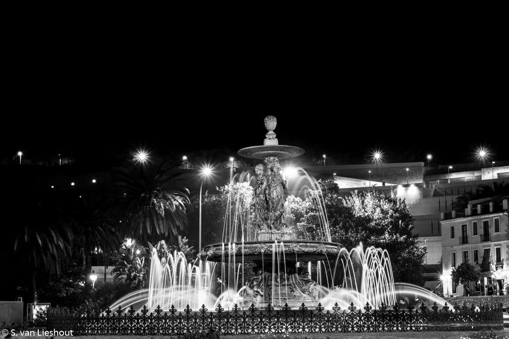 Malaga, Fuente Las Tres Gracias