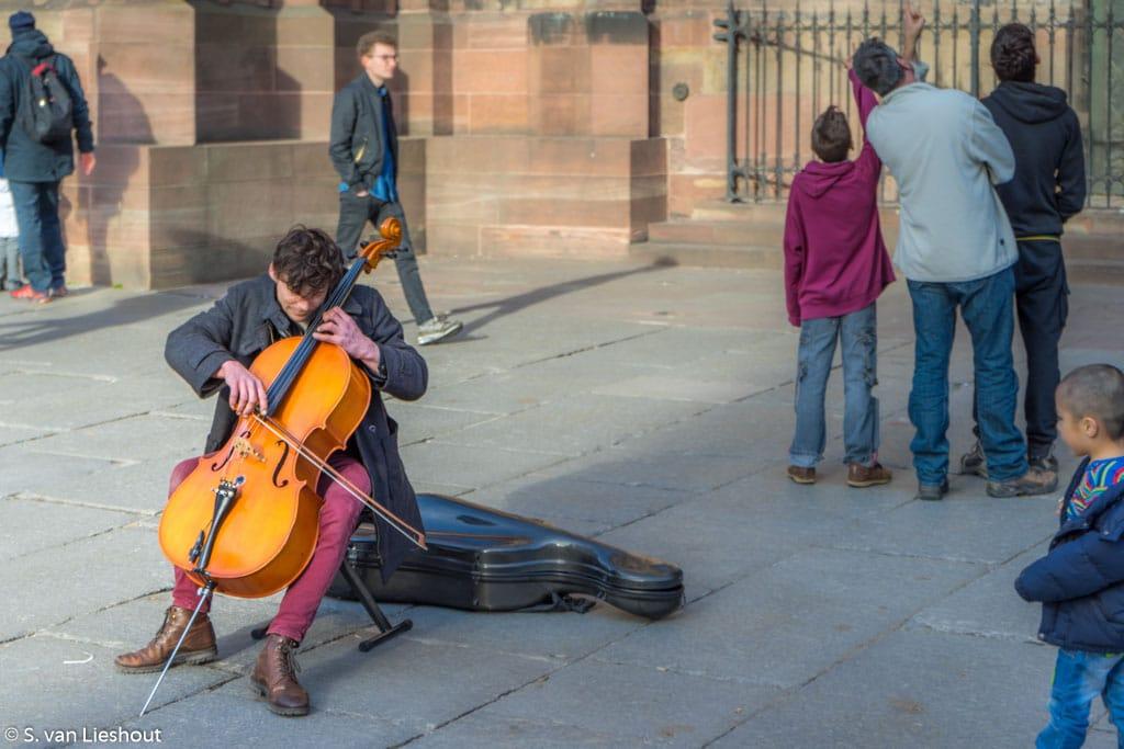 Zwitserland Strasbourg violist
