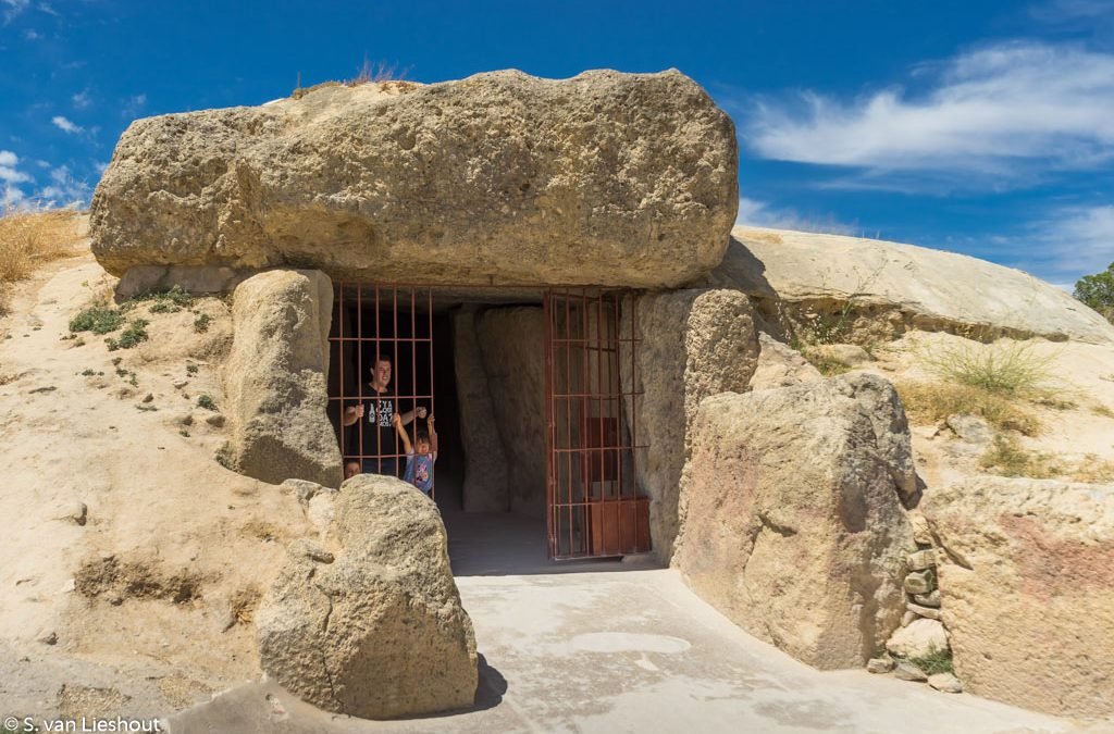 The dolmens of Antequera in southern Spain
