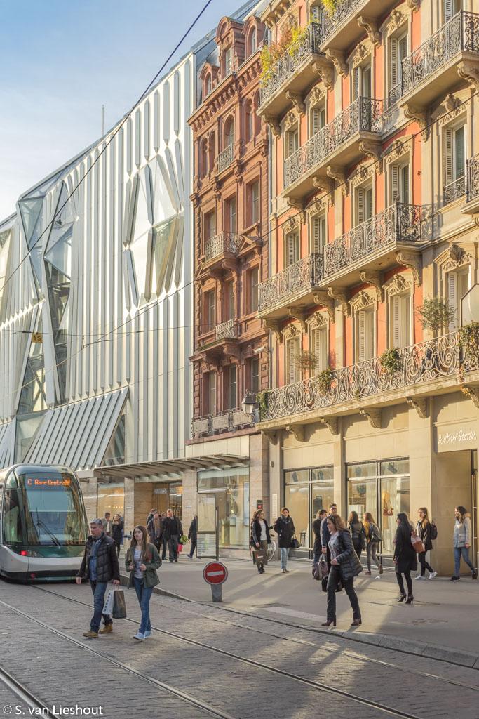 Straatsburg luxe shoppingcentra
