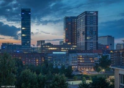 Hamburg hotel met uitzicht