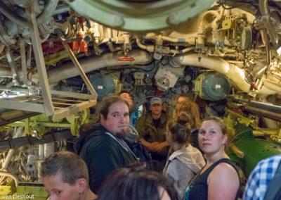 In de onderzeeërs