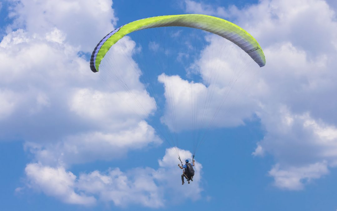 Paragliding in tandem is the best