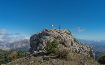 Hiking in the spectacular Sierra de las Nieves