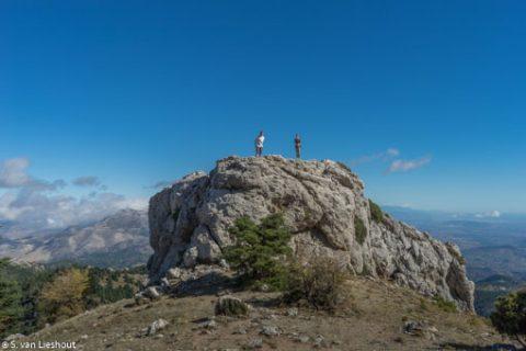 bergwandeling Sierra de las Nieves Malaga