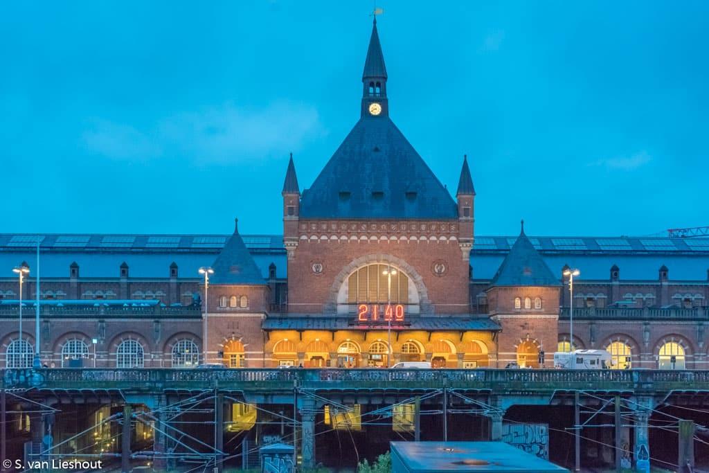 Centraal Station Kopenhagen Denemarken