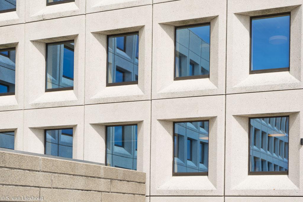 Moderne façades Kopenhagen Denemarken