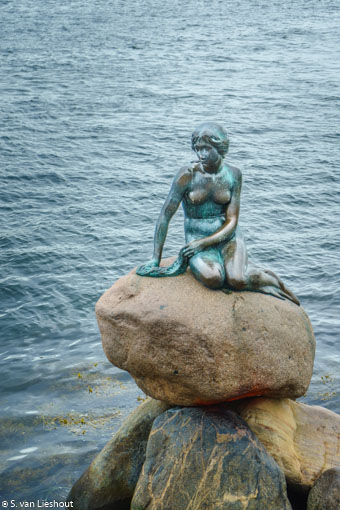 Denmark Copenhagen Little mermaid