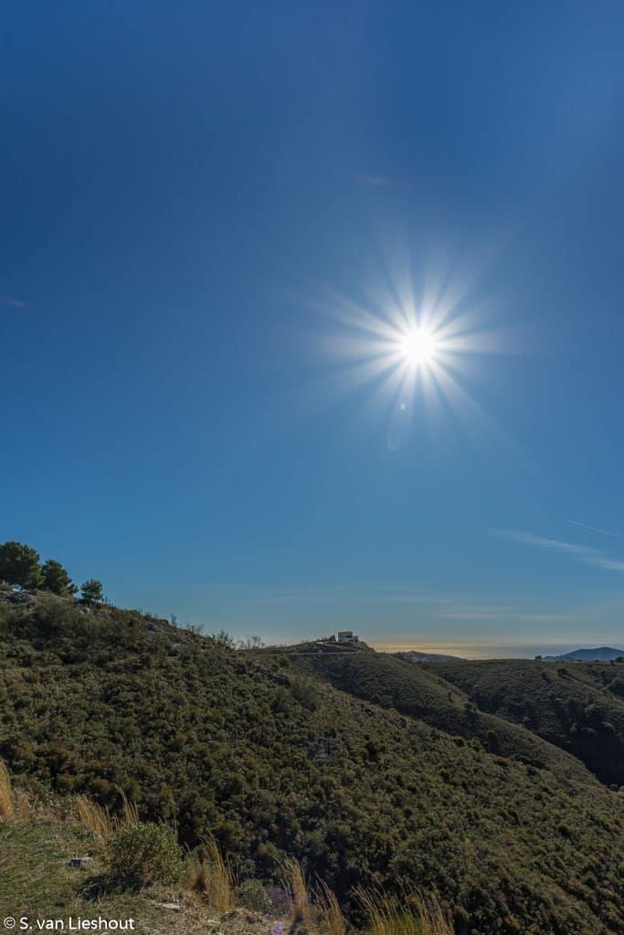 Bergwandeling provincie Malaga
