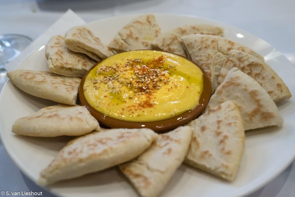 Hapjes uit de Libanese keuken