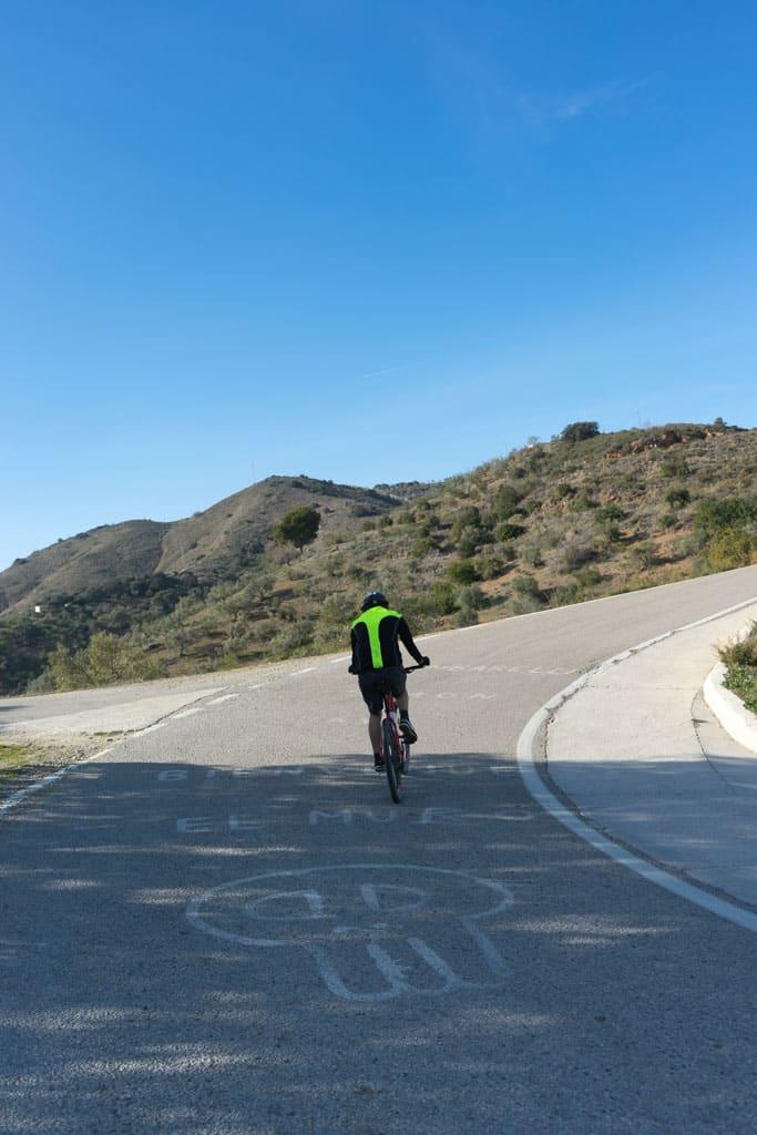fietstoer Malaga