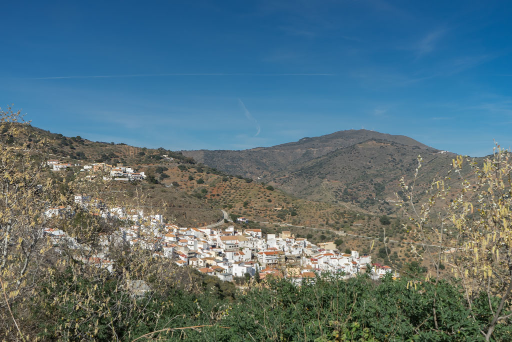 fietsrondje Montes de Malaga