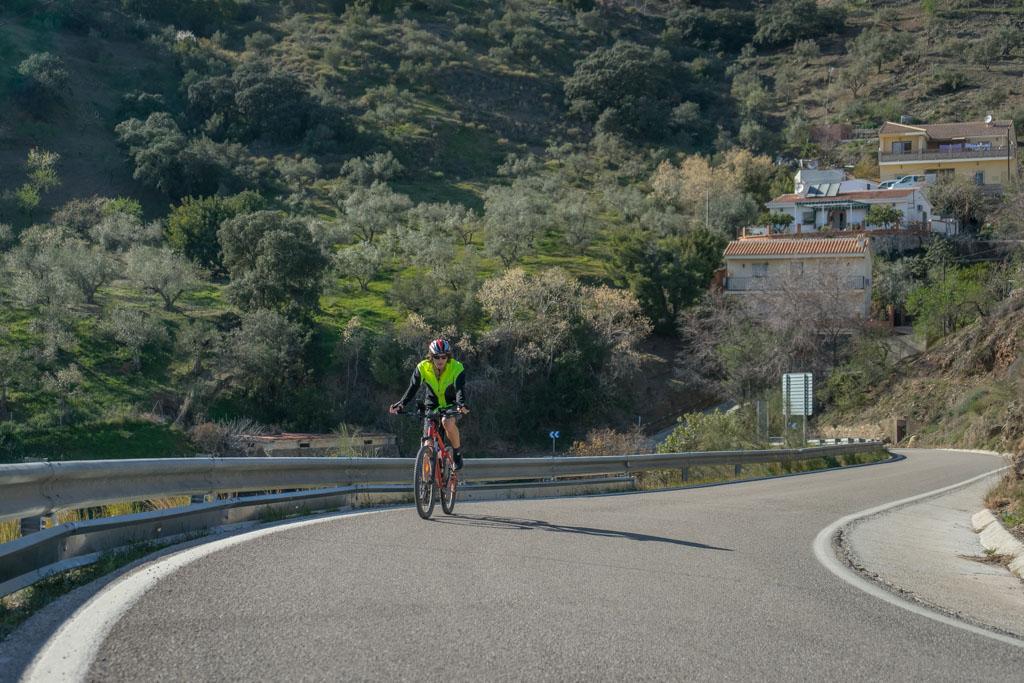 fietsen Malaga - Olias