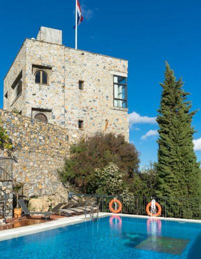 Castillo de Monda toren