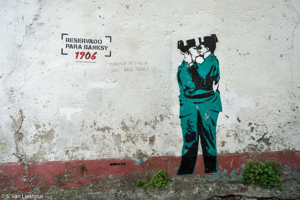 Banksy Spanje