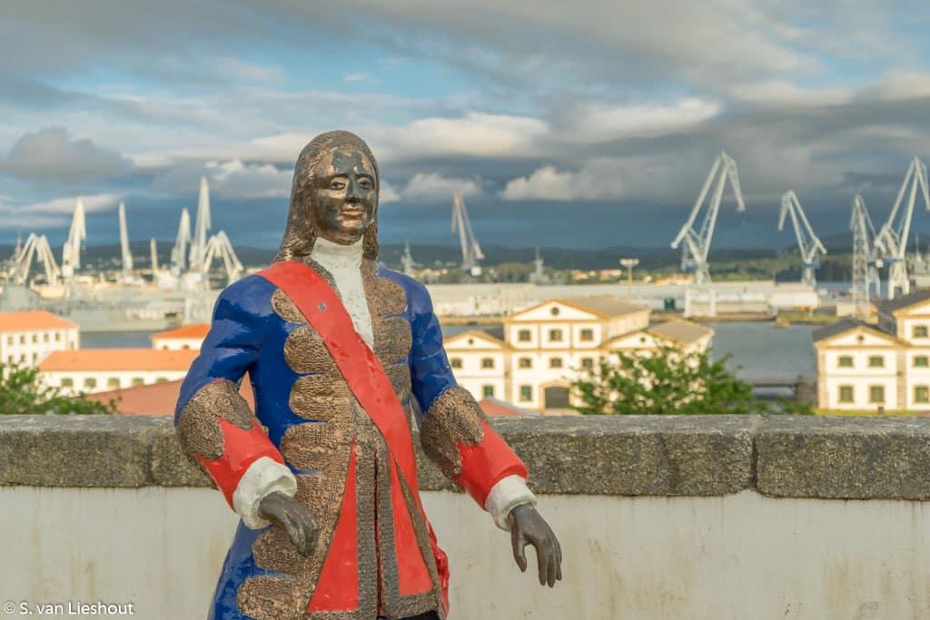 Ferrol naval city