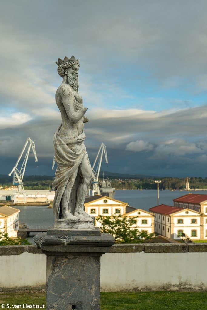 Ferrol Galicië Spanje