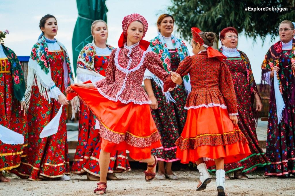 Etnische Russen Roemeniëche dansgroep