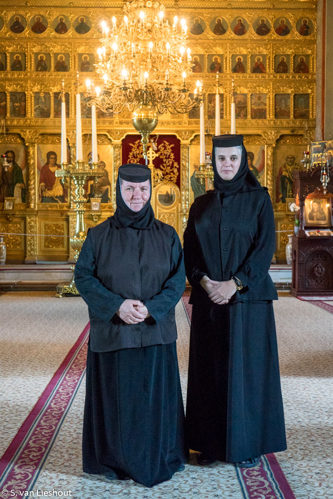 Romanian Orthodox nuns