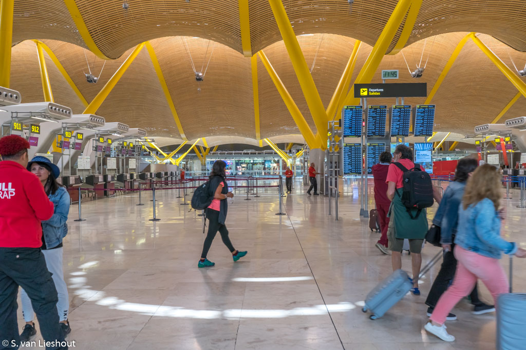 Barajas airport Madrid