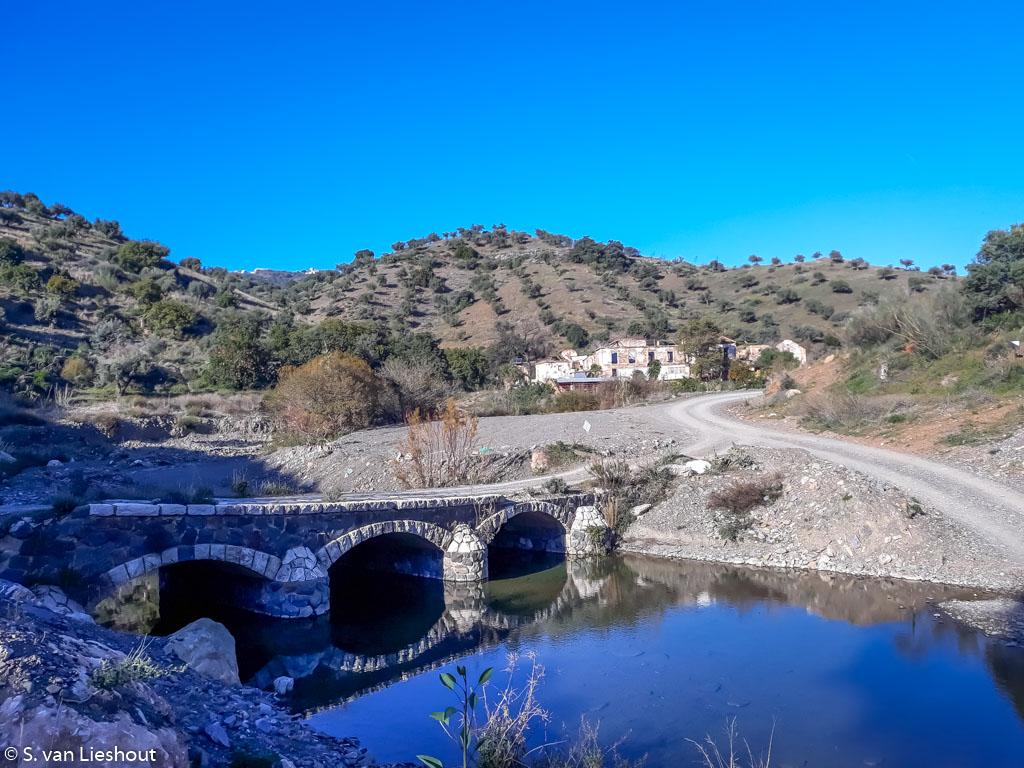 Malaga sendero del Mirador 119 brug