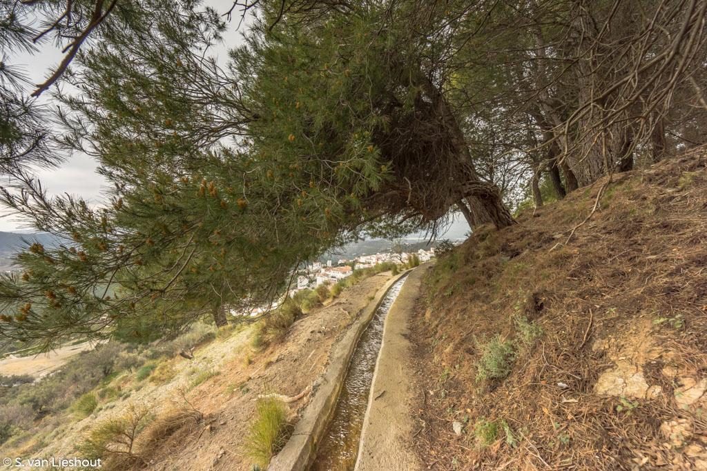 Aquaduct sendero Canillas de Aceituno