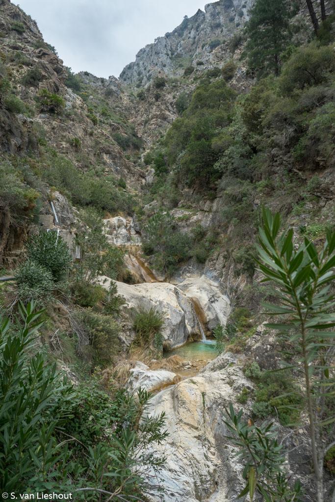 Canyon Almanchares river Axarquia