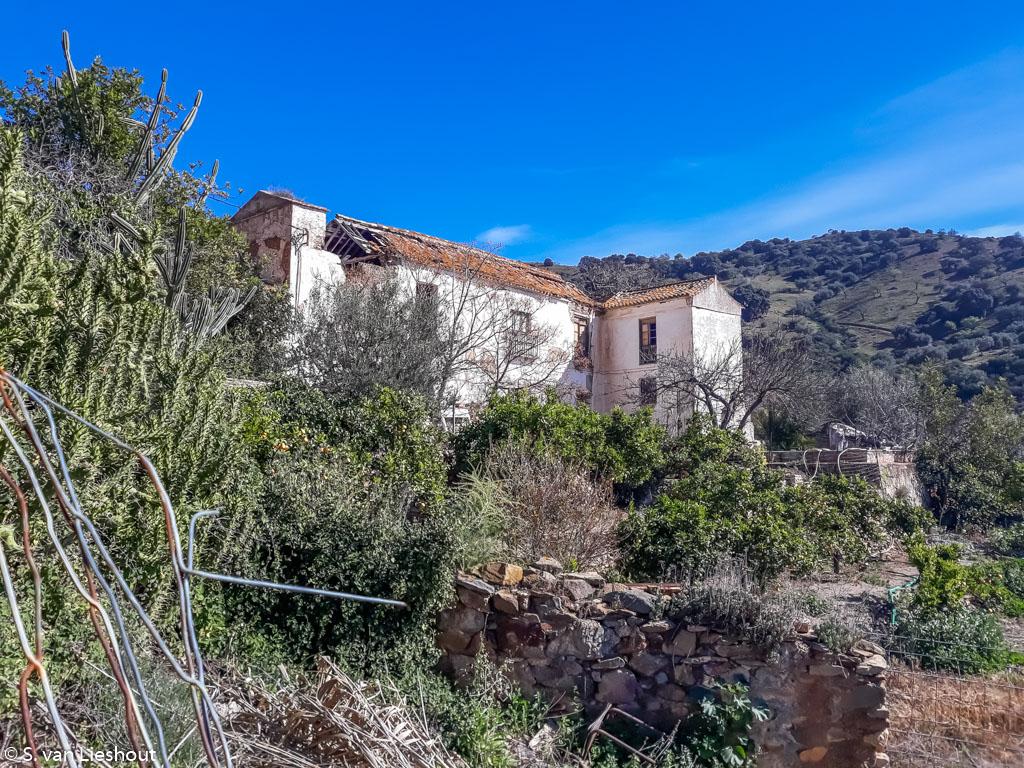 Malaga sendero del Mirador GR-119