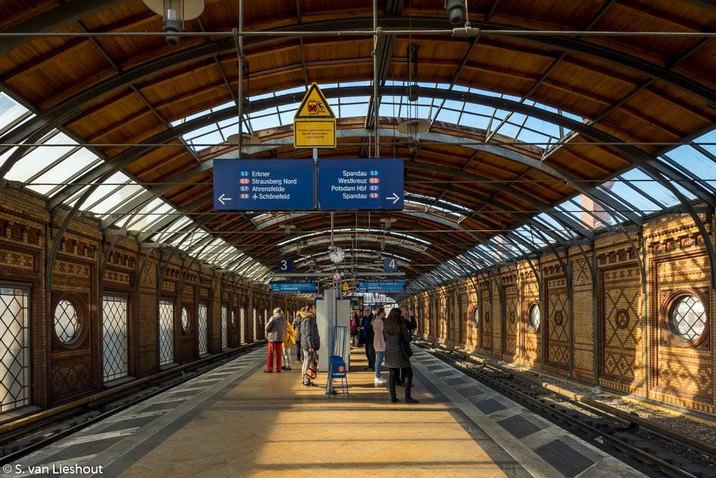 Hackescher Markt treinstation