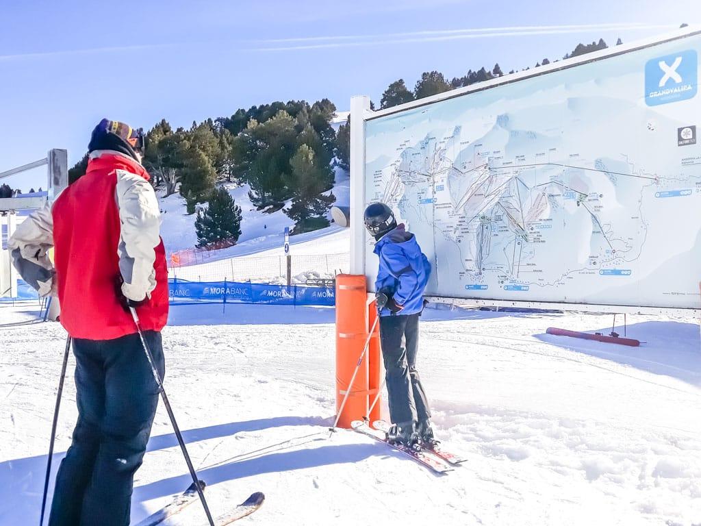 pistes Grandvalira Andorra ski resort