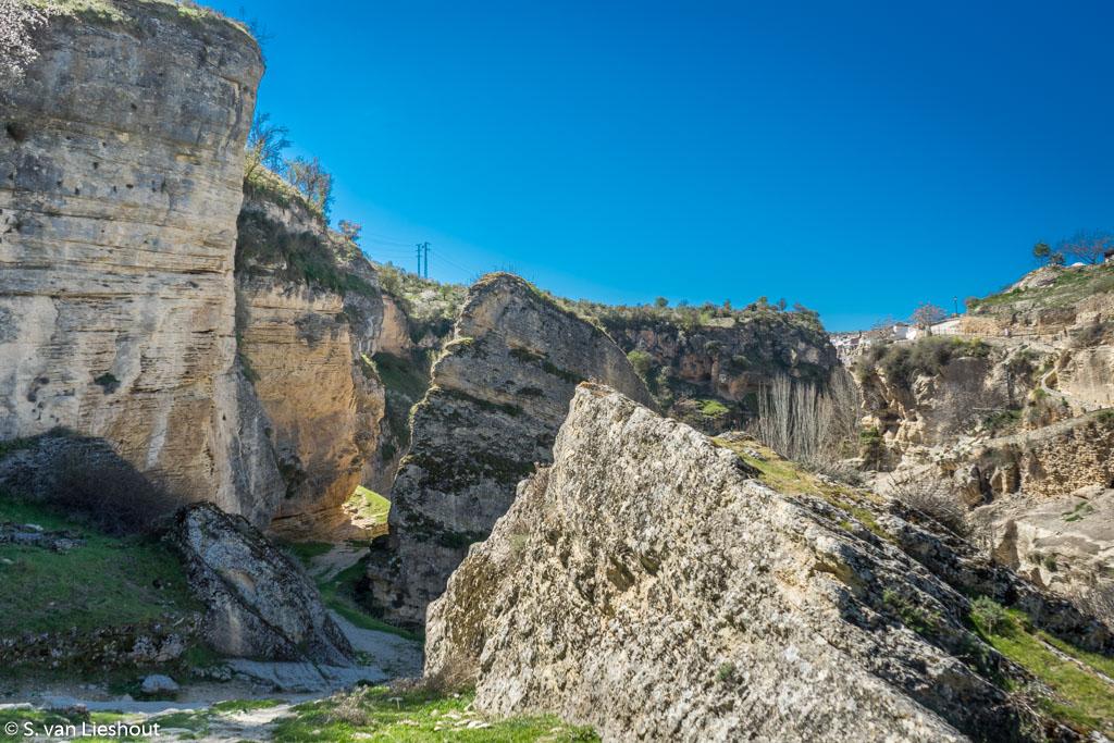 canyon Alhama de Granada