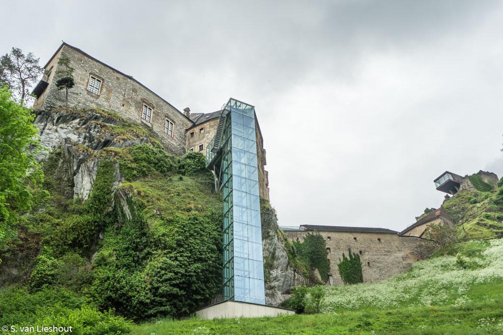 Rabenstein Fortress glazen lift