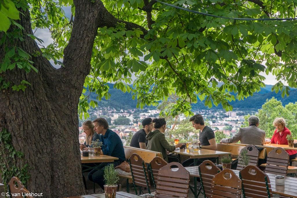 Schlossberg Biergarten