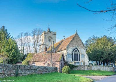 Grantchester church
